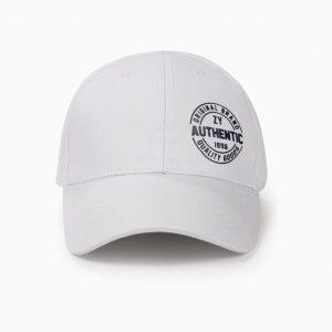 Gorra para niño blanca