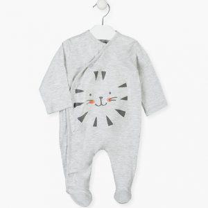 Pijama algodón orgánico tiger