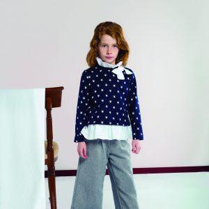 Conjunto jersey estrellas y pantalón