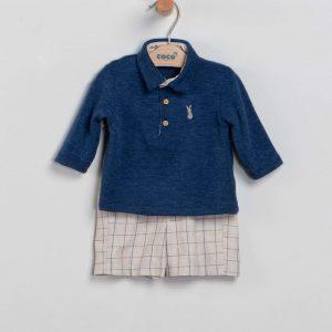 Conjunto jersey y pantalón de cuadros