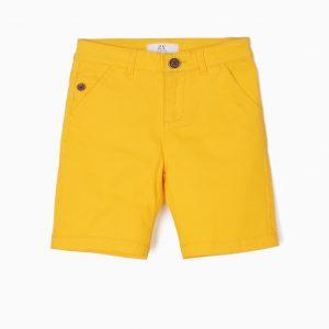 Short para niño amarillo