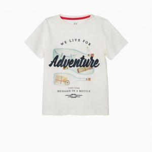 Camiseta life on the seas blanca