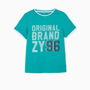Camiseta ZY 96 verde