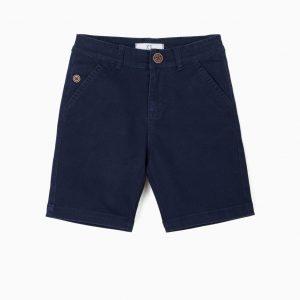 Short para niño azul marino