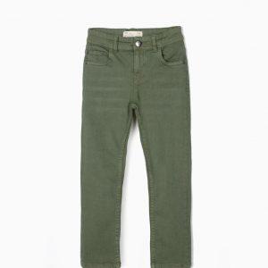 Pantalón largo oliva