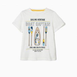 Camiseta boat capitan