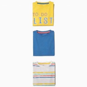 Pack 3 camisetas To do list