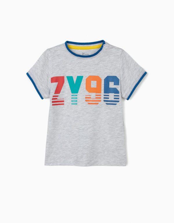 Camiseta bebe gris ZY96