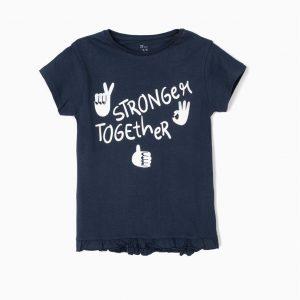 Camiseta stronger azul marino