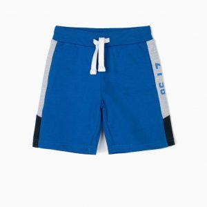Short deportivo azul ZY96 niño