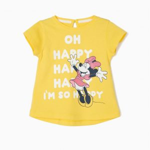Camiseta bebé happy Minnie