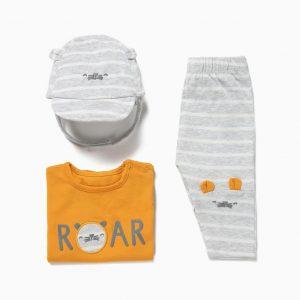 Pack 3 piezas Animals roar