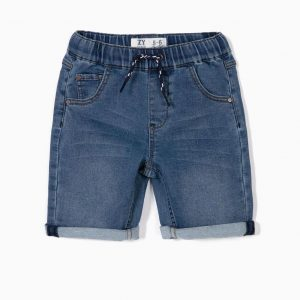 Short denim confort para niño