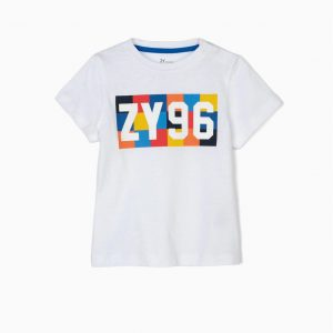 Camiseta blanca 96 bebé