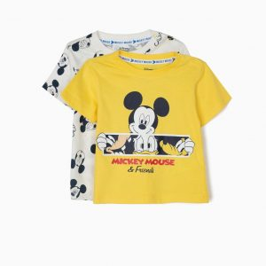 Pack dos camisetas Mickey