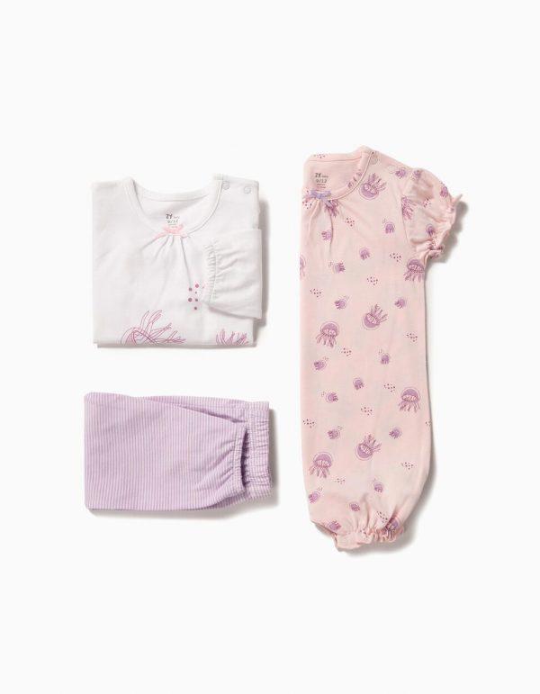 Pack de pijama y pelele Jellyfish