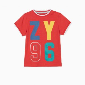 Camiseta bebé roja ZY96