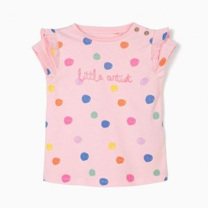 Camiseta little artist bebé