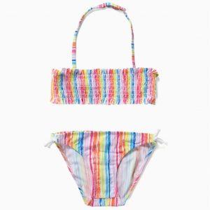 Bikini arco iris niña