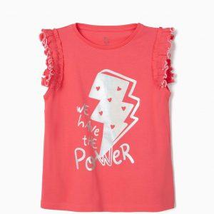 Camiseta we have the power niña