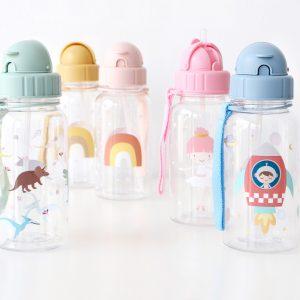 Botella con pajita Tutete (varios modelos)
