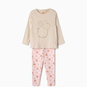 Pijama para niña con tull Minnie