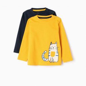 Pack 2 camisetas cat and car