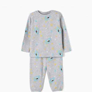 Pijama Mickey grey