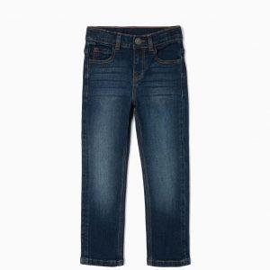 Pantalón denim confort basic niño