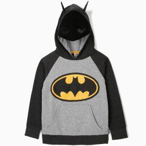 Sudadera con capucha máscara Batman