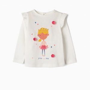 Camiseta princesa you and me bebé