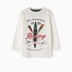 Camiseta Rowing club blanca