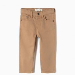 Pantalon confort marrón