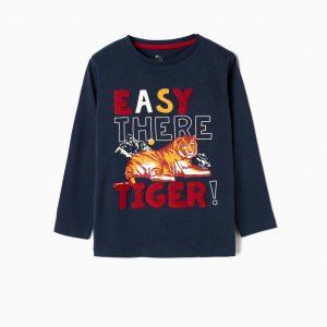 Camiseta tiger azul marino