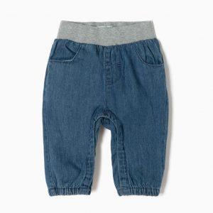 Pantalón vaquero con cintura elástica my 1st denim
