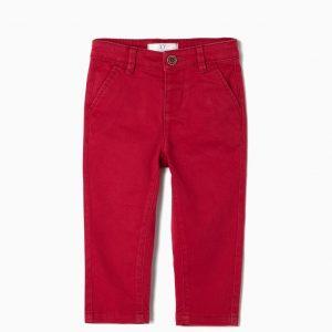 pantalon chino rojo
