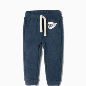 Pantalon algodón orgánico raw bebé