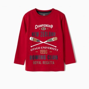 Camiseta New Zealand roja
