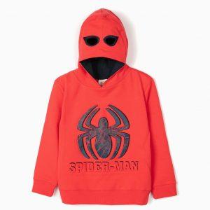 Sudadera con capucha máscara Spiderman