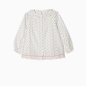 Blusa florecitas para niña