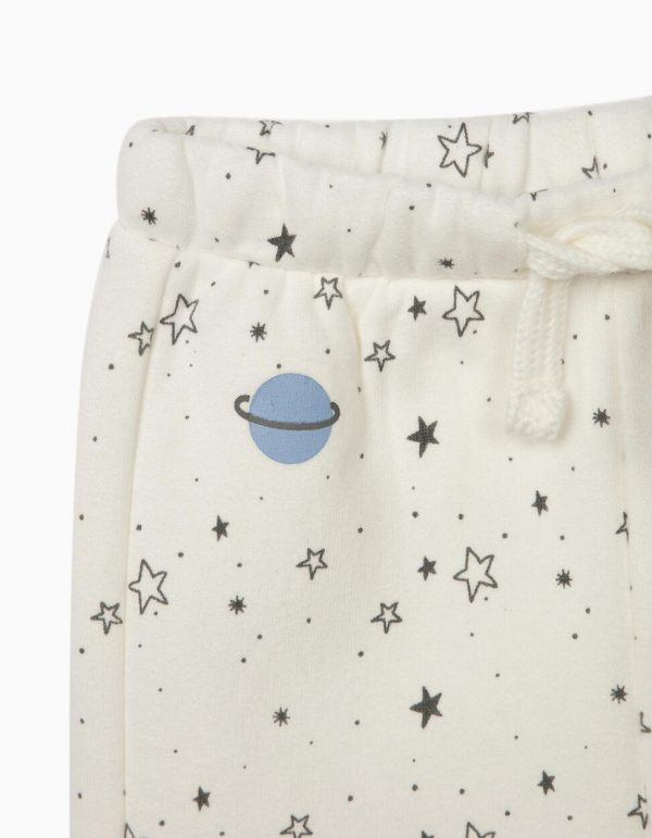 Chándal newborn my universe azul/blanco