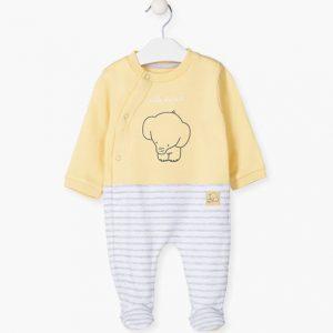 Pijama a rayas elefante