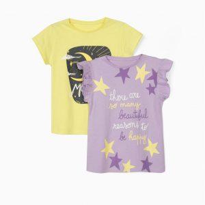 Pack camisetas Moon child