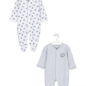 Pack de dos pijamas niña flores