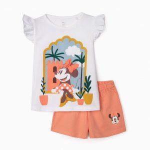Pijama algodón orgánico Minnie
