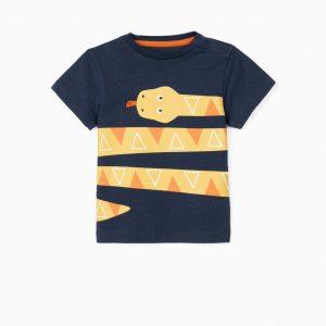 Camiseta bebé serpiente