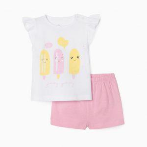 Pijama bebé helados
