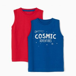 Pack 2 camisetas tirantes Cosmic adventures
