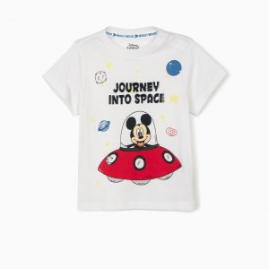 Camiseta bebé Mickey into space